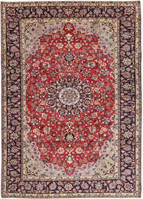 Najafabad Vloerkleed 248X338 Echt Oosters Handgeknoopt Donkerpaars/Donkerrood (Wol, Perzië/Iran)