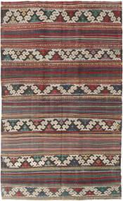 Κιλίμ Τουρκία Χαλι 144X235 Ανατολής Χειροποίητη Ύφανση Καφέ/Σκούρο Καφέ (Μαλλί, Τουρκικά)