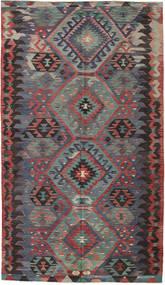 Κιλίμ Τουρκία Χαλι 180X312 Ανατολής Χειροποίητη Ύφανση Σκούρο Κόκκινο/Μαύρα (Μαλλί, Τουρκικά)