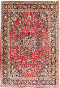Mashad Rug 239X342 Authentic  Oriental Handknotted Rust Red/Beige (Wool, Persia/Iran)