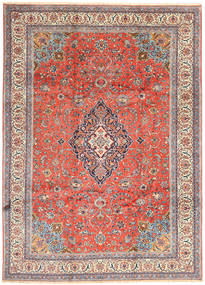 Sarouk Rug 243X338 Authentic  Oriental Handknotted Light Grey/Dark Grey (Wool, Persia/Iran)