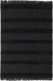 Alfombra Kilim Berber Ibiza - Negro carbón CVD19410