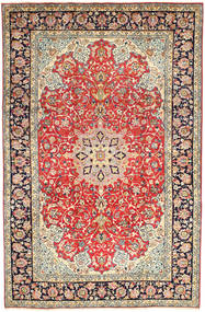 Najafabad Alfombra 245X367 Oriental Hecha A Mano Beige Oscuro/Óxido/Roja (Lana, Persia/Irán)