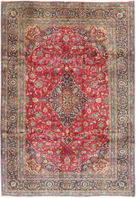Kashmar Matto 205X300 Itämainen Käsinsolmittu Violetti/Vaaleanruskea (Villa, Persia/Iran)