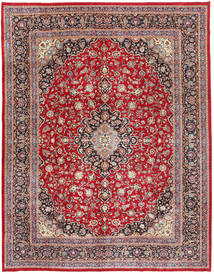 Mashad Patina Rug 295X375 Authentic  Oriental Handknotted Dark Red/Dark Brown Large (Wool, Persia/Iran)
