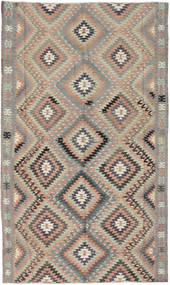Kilim Turkish Rug 175X290 Authentic  Oriental Handwoven Light Grey/Dark Grey/Light Brown (Wool, Turkey)