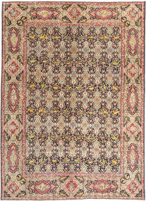 Tabriz Patina Rug 294X397 Authentic  Oriental Handknotted Brown/Light Brown Large (Wool, Persia/Iran)