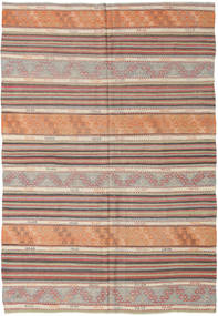 Kilim Turkish Rug 178X259 Authentic  Oriental Handwoven Light Grey/Brown (Wool, Turkey)