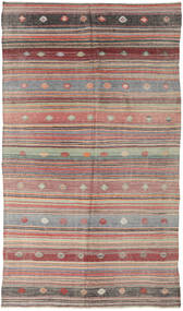 Kilim Turkish Rug 167X302 Authentic  Oriental Handwoven Light Grey/Light Brown (Wool, Turkey)