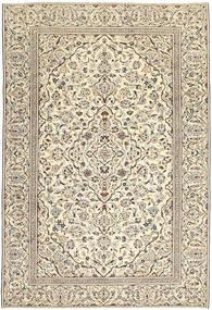 カシャン パティナ 絨毯 229X333 オリエンタル 手織り ベージュ/薄い灰色/暗めのベージュ色の (ウール, ペルシャ/イラン)