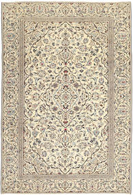 Keshan Patina Alfombra 229X333 Oriental Hecha A Mano Gris Claro/Beige Oscuro (Lana, Persia/Irán)