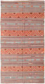 Κιλίμ Τουρκία Χαλι 177X334 Ανατολής Χειροποίητη Ύφανση Στο Χρώμα Της Σκουριάς/Ανοιχτό Γκρι/Ανοιχτό Καφέ (Μαλλί, Τουρκικά)