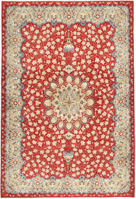 Najafabad Patina Rug 266X382 Authentic  Oriental Handknotted Rust Red/Dark Beige Large (Wool, Persia/Iran)