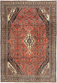 Hamadan Shahrbaf Patina Rug 233X334 Authentic  Oriental Handknotted Light Brown/Dark Brown (Wool, Persia/Iran)