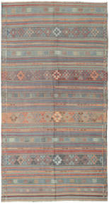 Kilim Turkish Rug 164X301 Authentic  Oriental Handwoven Light Grey/Light Brown (Wool, Turkey)