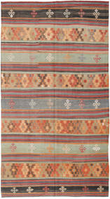 Kilim Tureckie Dywan 164X301 Orientalny Tkany Ręcznie Jasnobrązowy/Jasnoszary (Wełna, Turcja)