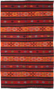 Kilim Turkish Rug 181X305 Authentic  Oriental Handwoven Dark Red/Black (Wool, Turkey)