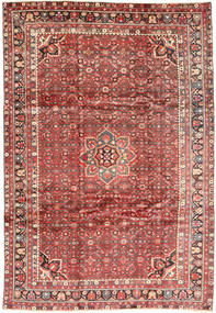 Hosseinabad Rug 225X320 Authentic  Oriental Handknotted Brown/Light Brown (Wool, Persia/Iran)