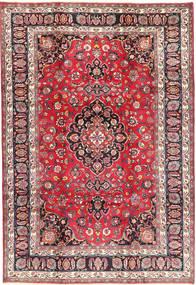 Mashad Matto 210X305 Itämainen Käsinsolmittu Tummanvioletti/Violetti (Villa, Persia/Iran)