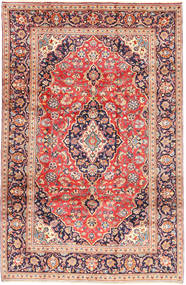 Keshan Matto 200X303 Itämainen Käsinsolmittu Ruoste/Beige (Villa, Persia/Iran)
