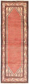 Sarouk Mir Rug 103X303 Authentic  Oriental Handknotted Hallway Runner  Light Brown/Light Pink (Wool, Persia/Iran)