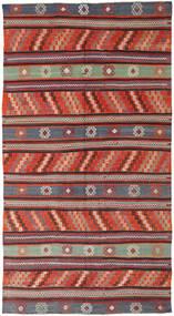 Kelim Tyrkiske Teppe 170X314 Ekte Orientalsk Håndvevd Mørk Rød/Rust (Ull, Tyrkia)