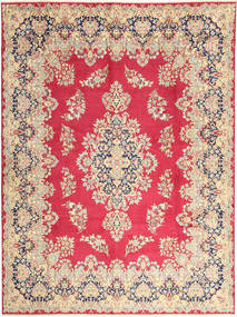 Kerman Rug 292X400 Authentic  Oriental Handknotted Rust Red/Light Brown Large (Wool, Persia/Iran)