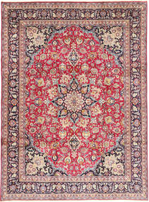 Mashad Rug 248X334 Authentic  Oriental Handknotted Beige/Brown (Wool, Persia/Iran)
