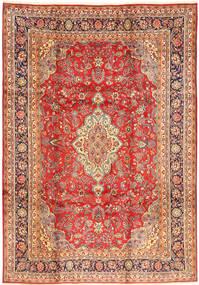 Hamadan Matto 220X320 Itämainen Käsinsolmittu Ruskea/Vaaleanruskea (Villa, Persia/Iran)