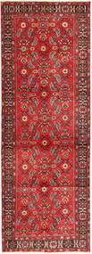 Heriz Vloerkleed 112X330 Echt Oosters Handgeknoopt Tapijtloper Bruin/Roestkleur (Wol, Perzië/Iran)