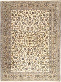 Keshan Matto 303X407 Itämainen Käsinsolmittu Vaaleanruskea/Beige Isot (Villa, Persia/Iran)