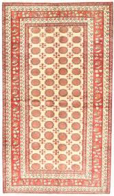 Turkaman Matto 130X226 Itämainen Käsinsolmittu Beige/Tummanbeige (Villa, Persia/Iran)