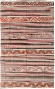 Kilim Turkish Rug 164X258 Authentic  Oriental Handwoven Light Grey/Light Brown (Wool, Turkey)