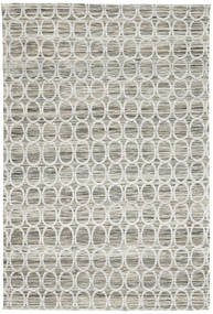 Jakart Kilim Tapis 120X185 Moderne Gris Clair/Beige ( Inde)