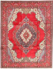 Tabriz Matta 255X334 Äkta Orientalisk Handknuten Röd/Brun Stor (Ull, Persien/Iran)