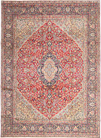 Kerman Rug 276X368 Authentic  Oriental Handknotted Pink/Light Pink Large (Wool, Persia/Iran)