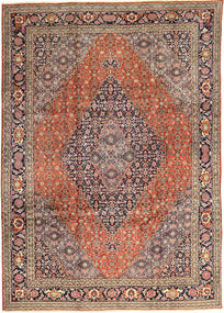 Tabriz Rug 245X347 Authentic  Oriental Handknotted Light Brown/Dark Blue (Wool, Persia/Iran)