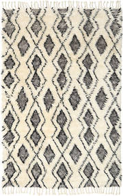 Barchi/Moroccan Berber Alfombra 160X230 Moderna Hecha A Mano Beige/Gris Oscuro (Lana, India)