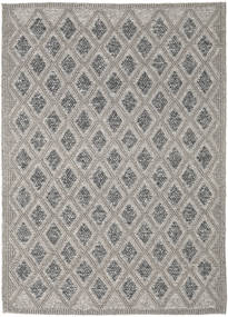 Kilim M.w.s Rug 160X230 Authentic  Modern Handwoven Light Grey/Dark Grey (Wool, India)