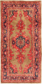 Koliai Rug 161X322 Authentic  Oriental Handknotted Light Brown/Rust Red (Wool, Persia/Iran)