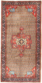 Koliai Rug 158X320 Authentic  Oriental Handknotted Hallway Runner  Light Brown/Brown (Wool, Persia/Iran)