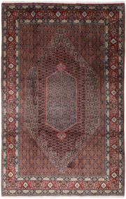 Senneh Dywan 200X310 Orientalny Tkany Ręcznie Ciemnobrązowy/Brązowy (Wełna, Persja/Iran)