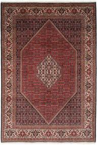 Bidjar Teppe 203X295 Ekte Orientalsk Håndknyttet Brun/Mørk Rød (Ull, Persia/Iran)