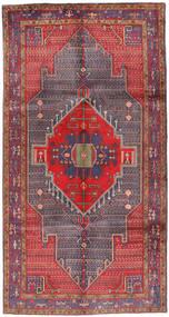 Koliai Matto 152X295 Itämainen Käsinsolmittu Tummanharmaa/Ruskea (Villa, Persia/Iran)