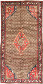 Koliai Rug 150X295 Authentic  Oriental Handknotted Hallway Runner  Light Brown/Dark Red (Wool, Persia/Iran)