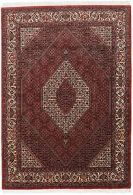 Bidjar Takab/Bukan Teppe 173X241 Ekte Orientalsk Håndknyttet Mørk Rød/Mørk Brun (Ull, Persia/Iran)