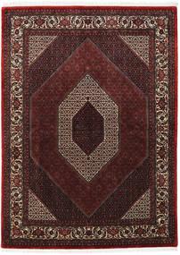Bidjar Takab/Bukan Tapis 172X235 D'orient Fait Main Rouge Foncé/Marron (Laine, Perse/Iran)