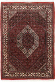 Bidjar Takab/Bukan Rug 174X247 Authentic  Oriental Handknotted Dark Red/Brown (Wool, Persia/Iran)