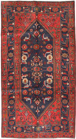Koliai Rug 161X296 Authentic  Oriental Handknotted Hallway Runner  Dark Red/Dark Grey (Wool, Persia/Iran)