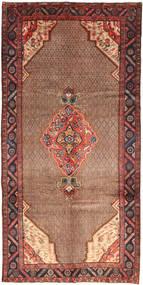 Koliai Teppe 155X320 Ekte Orientalsk Håndknyttet Mørk Rød/Mørk Brun/Brun (Ull, Persia/Iran)